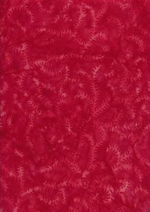 Sew Simple Bali Batik - Fern Red-178-24-38