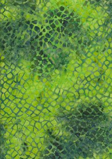 Sew Simple Bali Batik - sshh398#28-1Green