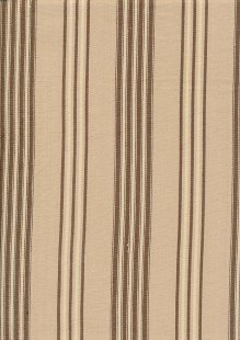 Canvas Ticking - Brown & Cream