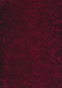 Polyester Velour - Deep Pink