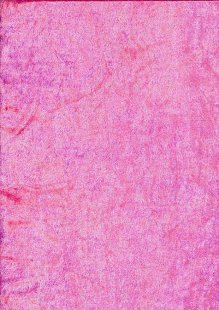 Polyester Velour - Hot Pink