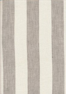 Linen - Taupe Wide Stripe