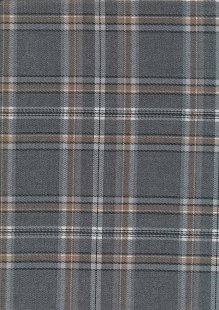 Grey & Brown Tartan