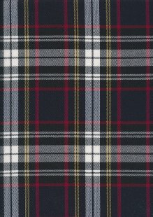 Black, Red & Grey Tartan