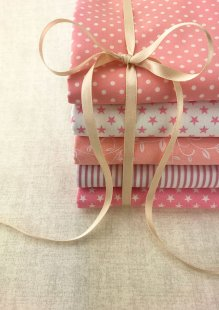 Doughty's Stocking Filler - 5 x 1/2 Metre Pack Pink
