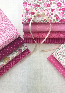 Doughty's Stocking Filler - 10 x 1/2 Metre Pack Pink