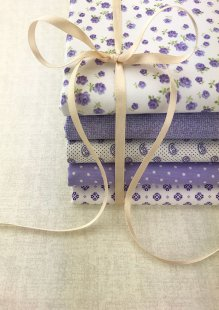 Doughty's Stocking Filler - 5 x 1/2 Metre Pack Purple