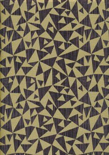 Studio E - Refinery Triangle Brown Gilded