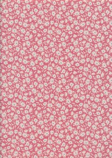 Tilda - Bon Voyage Paper Flower Red 100260