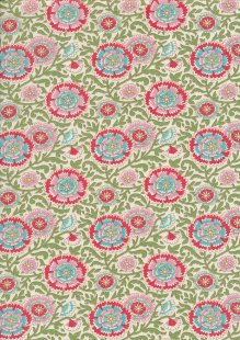 Tilda Fabrics - Bird Pond Elodie Green