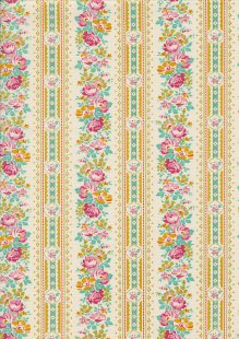 Tilda Fabrics - Apple Butter Billy Jo Yellow