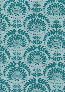 Tilda Fabrics - Lazy Days Phoebe Emerald