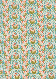 Tilda Fabrics - Lazy Days Mildred Green