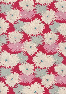 Tilda Fabrics -  Minnie Red