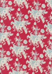 Tilda Fabrics -  Botanical Red