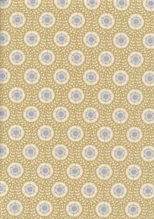 Tilda Fabrics - Maple Farm Wheat Flowers Dijon 100276