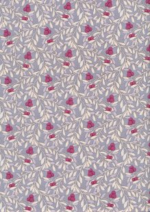 Tilda Fabrics - Maple Farm Cherry Bush Slate 100275