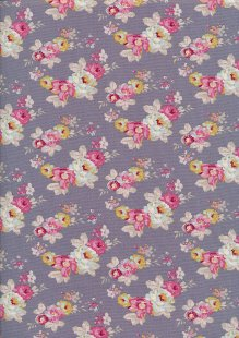 Tilda Fabrics - Maple Farm Pauline Blueberry 100274