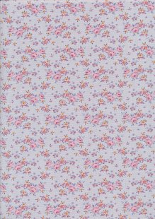 Tilda Fabrics - Maple Farm Gracie Lavender 100273