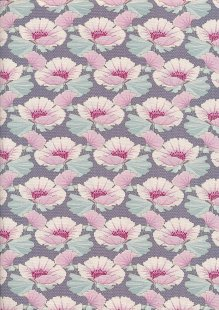 Tilda Fabrics - Maple Farm Gwendelyn Blueberry 100272