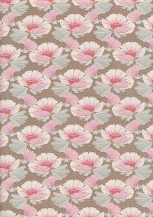 Tilda Fabrics - Maple Farm Gwendelyn Umber 100270