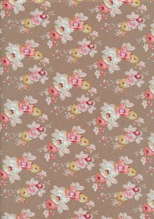 Tilda Fabrics - Maple Farm Pauline Umber 100268