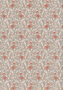 Tilda Fabrics - Maple Farm Cherry Bush Sand 100266