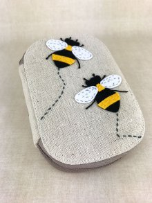 Sewing Box - Bumble Bee Sewing Kit TK05A\347-Taupe