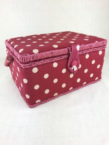 Sewing Box - Spotty MRM\22-Red