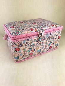 Sewing Box - Haberdashery MRM\187-Pink