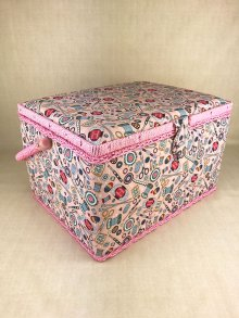 Sewing Box - Haberdashery MRL\187-Pink