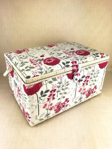 Sewing Box - Wild Flower HGXL\144-White