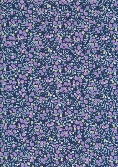 Pima Cotton Lawn - Purple Mulberry