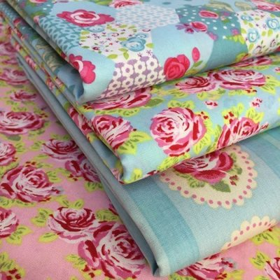 Je Ne Sais Quoi Collection Bundle - Rose Turquoise & Pink 4 Fat 1/4s