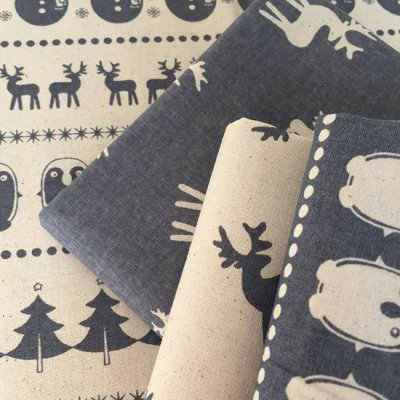 Scandi Christmas Pack - 4 x 1/2 Metres C
