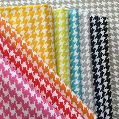 Je Ne Sais Quoi Collection Bundle - Colourful Basics Houndstooth 10 Fat 1/4s
