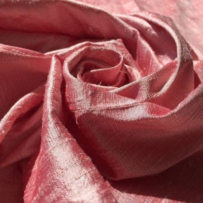Silk Dupion - Antique Rose 9