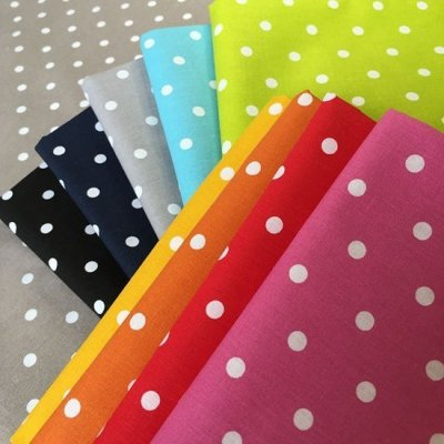 Je Ne Sais Quoi Collection Bundle - Ditsy Basics Polka Dot 10 Fat 1/4s