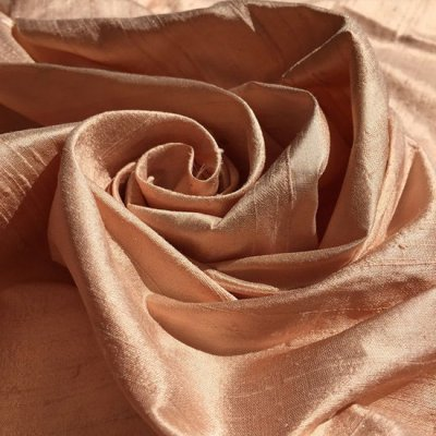 Silk Dupion - Peach 11