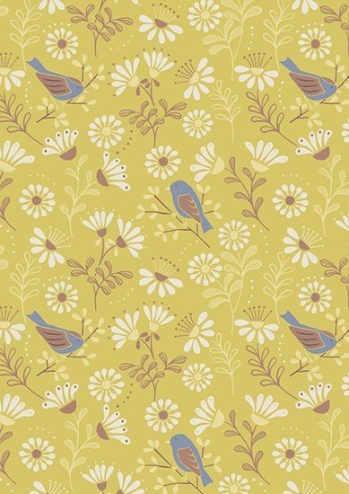 Lewis & Irene - A Little Bird Told Me A66.2 A Little Bird Told Me on Spring Yellow