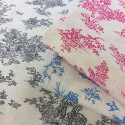 Je Ne Sais Quoi Collection Bundle - Toile De Jouy 3 Fat Quarters