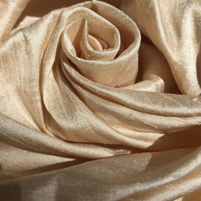 b99592ab7d6 Silk Dupion - Pale Peach