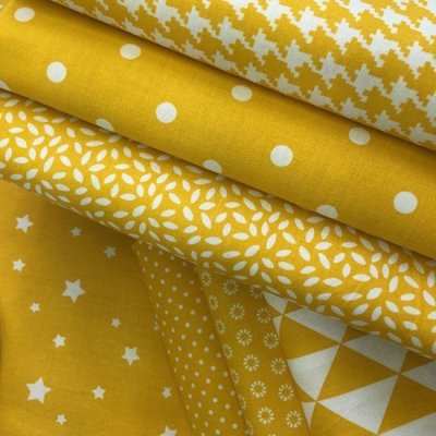 Je Ne Sais Quoi Collection Bundle - Yellow Blender Coordinations 7 Fat 1/4s