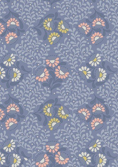 Lewis & Irene - A Little Bird Told Me A67.2 Cottage Garden on Welsh Blue