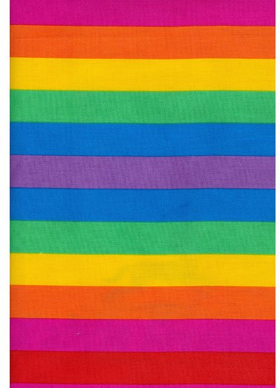 Rainbow Stripes - Really Useful Fabrics