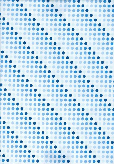 Blue Spots - Really Useful Fabrics