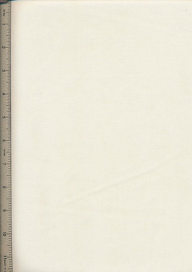 Poly Cotton Plain - Ivory