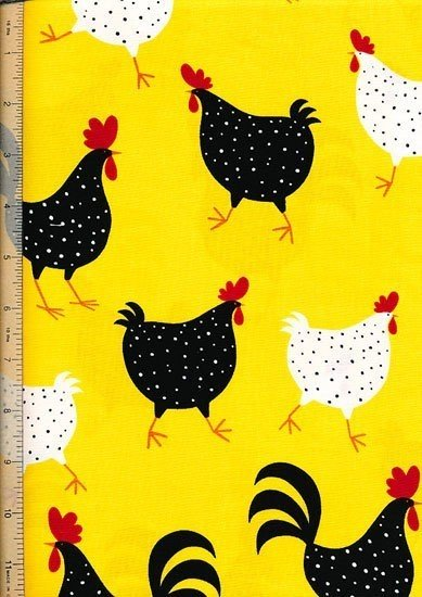 Novelty - Fun Yellow Chickens