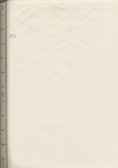 Purse Friendly Print - Plain Ivory - 100% Cotton Fabric