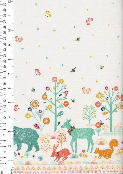 Dashwood Studio - Nature Trail Double Border Print 1131